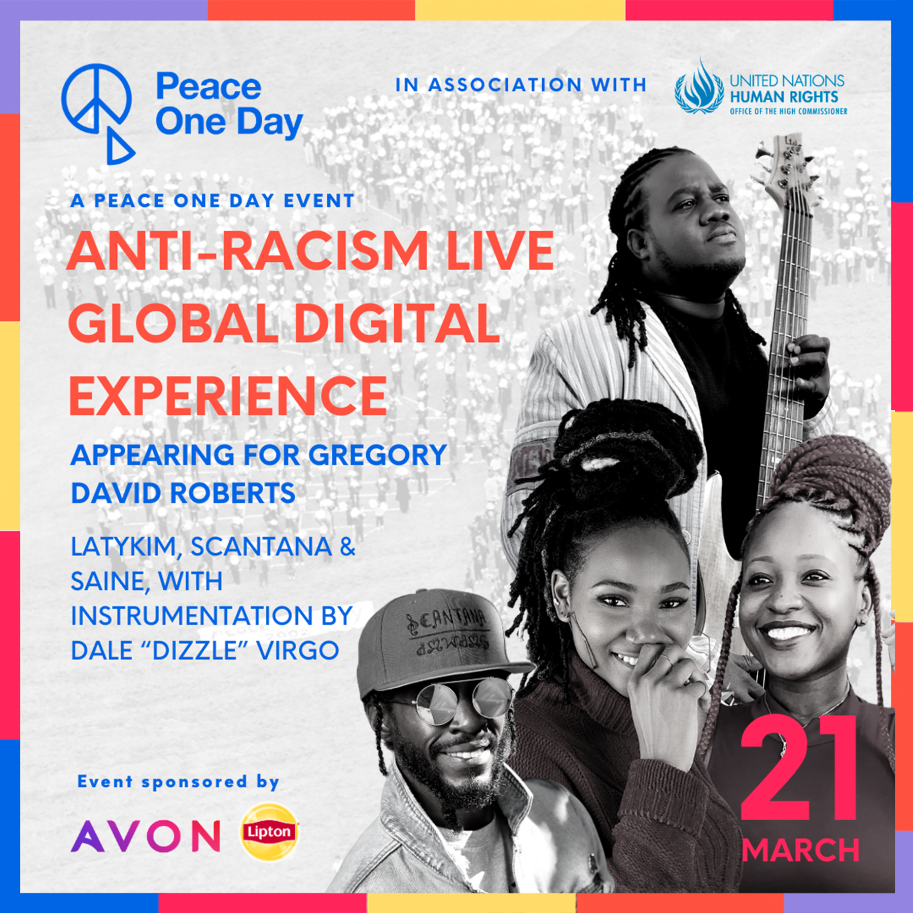 Peace One Day Anti-Racism Live Global Digital Experience
